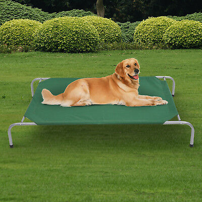 Dog Cat Puppy Pet Bed Raised Portable Cot Hammock Camping Indoor Outdoor Camp