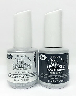 IBD Just Gel Polish -LED/UV Gel Art Polish- perfect for French tip! Pick yours
