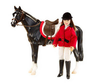 Breyer Classics Collection #61052 Chelsea Show Jumper Doll Set! -New-Factory Se