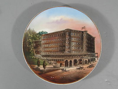 Eureka Springs Arkansas Souvenir China Plate / Basin Park Hotel
