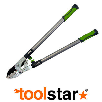 Heavy Duty Ratcheting Anvil Lopper Shears Loppers Garden Pruning Tool