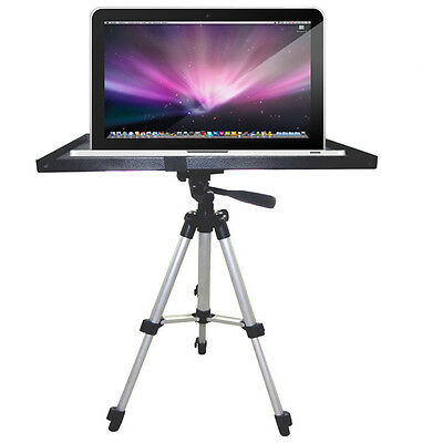 """7""""-15"""" Laptop Notebook Projector Tray Holder for 1/4"""" 3/8"""" Tripod Mount Stand"""