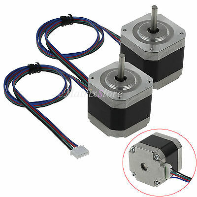 2pcs Nema 17Stepper Motor 56Ncm 42BYGHW60 1.8°12V for DIY 3D Printer CNC Robot