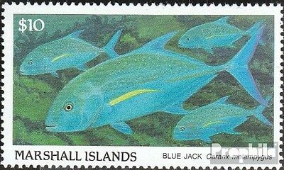 Marshall-Islands 208 fine used / cancelled 1989 Fish
