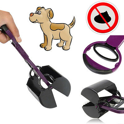 Pooper Scooper Poop Scoop Pet Dog Cat Waste Easy to Clean Pickup Grabber UK NEW