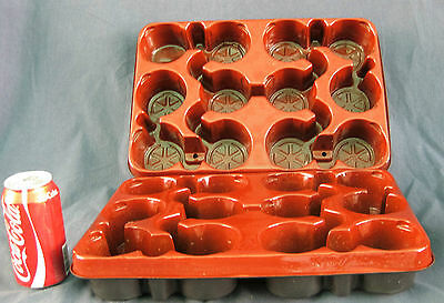 RON. Plastic trays. Modiform 12 slot tray - suitable for 80 / 90 mm pots (5140*)