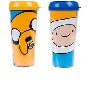 Adventure Time Travel Cup Finn & Jake Pick Which One Official Licensed Product