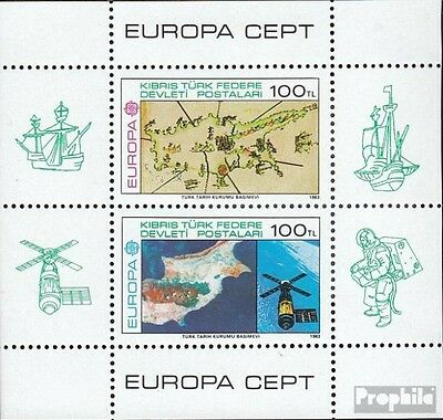 Turkish-Cyprus block4 (complete issue) unmounted mint / never hinged 1983 Europe