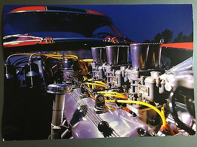 1956 Ferrari 250 GT Coupe Engine Print, Picture, Poster RARE!! Awesome L@@K