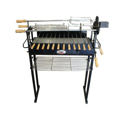 Cyprus Spit Roast Rotisserie Grill - 3mm extra thick fire pit