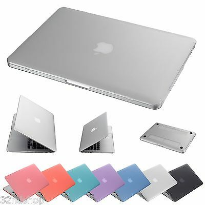 "Clear Hard Shell Case Cover Skin Apple MacBook Air, Pro, Retina 11"" 13"" 15"""