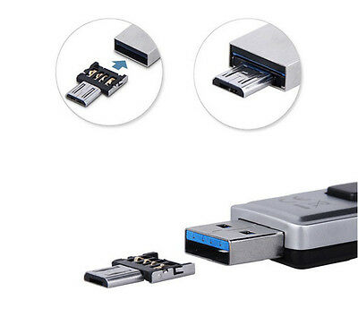 Micro USB OTG Converter Enable USB Flash Drive Work for Cellphone Tablet PC