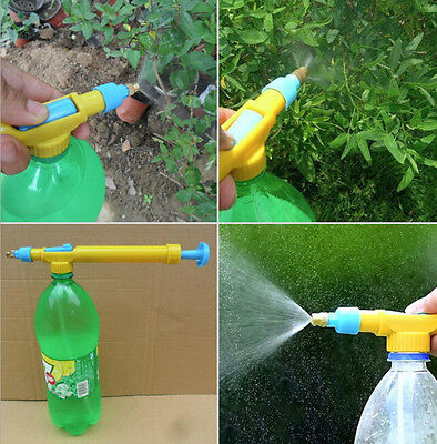 Watering Can PET Bottle Gardening Pump Sprayer Hot Portable Handheld Spread