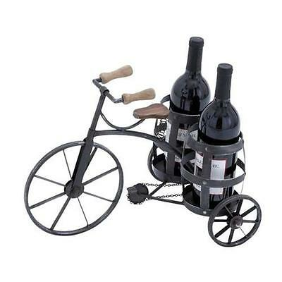 Woodland Import 92315 Wine Holder in Black with Solid and Durable Construction