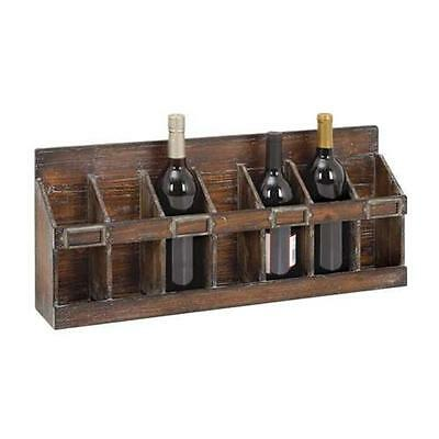 Woodland Import 54417 Wine Rack with 7 Bottles Hold of Standard Size