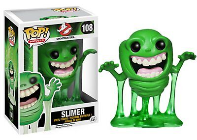 """Funko Pop Movies Ghostbusters Slimer Vinyl Action Figure Collectible Toy, 3.75"""""""