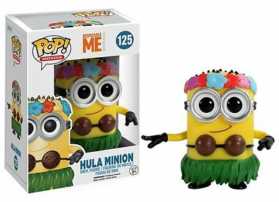 Funko Pop Movies Despicable Me: Hula Minion Vinyl Action Figure Collectible Toy