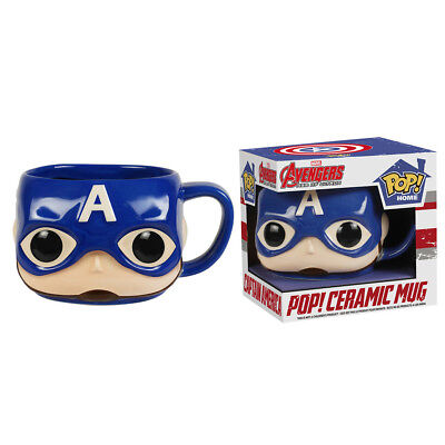 Funko Pop Home Marvel Avengers 2 Age Of Ultron: Captain America 12oz Ceramic Mug