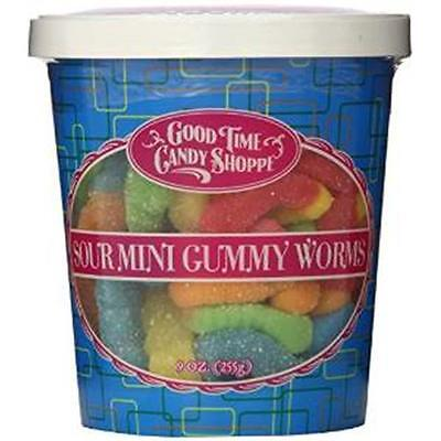 Pepper Creek Farms 195I Sour Mini Gummy Worms Pack of 12