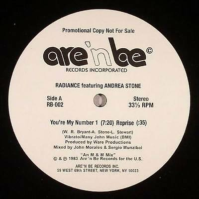 "Radiance Feat Andrea Stone "" You're My Number 1 "" Sealed U.s.12 Rare Funk Boogie"