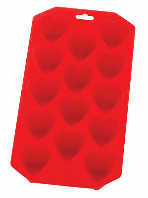 Harold Nonstick Silicone Ice Cube Tray Chocolate Candy Baking Craft Molds Hearts