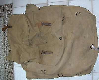 Early Vintage Boy Scout's Of America Back Pack Canvas Old Amazing Condition Rare