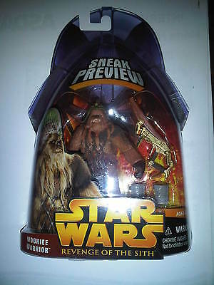 Star Wars Revenge of the Sith Wookie Warrior - Brand New