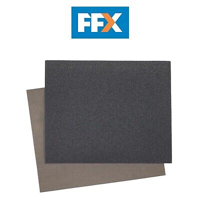 Sealey WD2328600 Wet & Dry Paper 230 x 280mm 600Grit Pack of 25