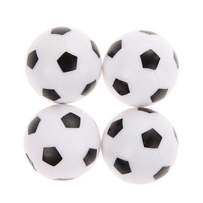 4Pcs 36mm Indoor Soccer Table Foosball Replacement Ball Football Fussball Futbol