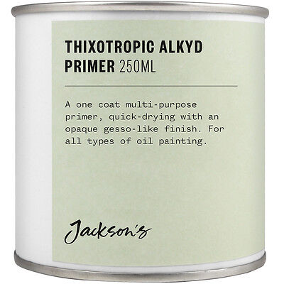 Jacksons Thixotropic Alkyd Oil Primer 250ml : By Road Parcel Only