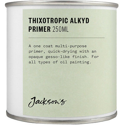 Jacksons Thixotropic Alkyd Oil Primer 250ml