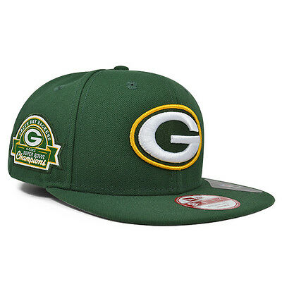e8973402 GREEN BAY PACKERS New Era 4x Champions TITLE DEALER Snapback 9Fifty NFL Hat