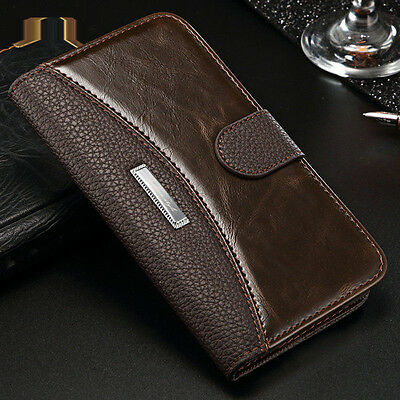 Luxury Leather Case Flip Card Slot Wallet Stand Cover For Samsung Galaxy S5 Neo