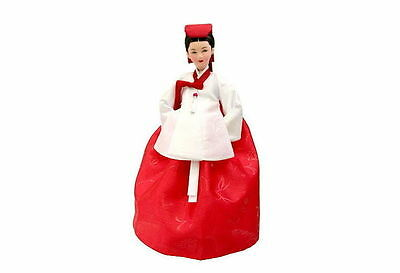 Daejanggeum Korean Traditional Doll in Red Dress Drama Jewel in the Palace