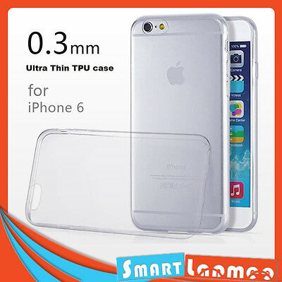 iPhone 6 6 plus Ultra Thin Clear Transparent Case Soft TPU Cover for Apple