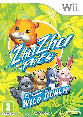 ZHU ZHU PETS FEATURING THE WILD BUNCH [Wii] - COMPLETE -