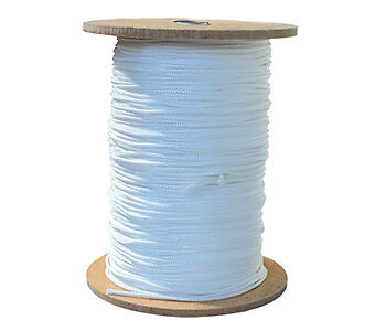 Hanging and Framing Hardware Picture Cord Roll White N 100m