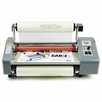 """Hot And Cold For 13"""" Roll Laminating Machine Four Rollers L"""