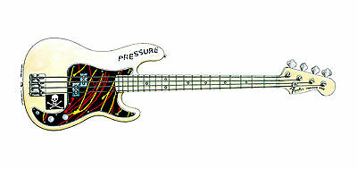 Paul Simonon's Fender Precision Bass Greeting Card, DL size