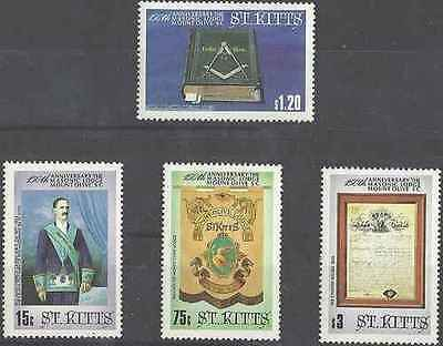 Timbres St Kitts 592/5 ** lot 13829