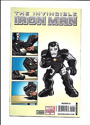 Invincible Iron Man #19 Variant (9.2) Marvel