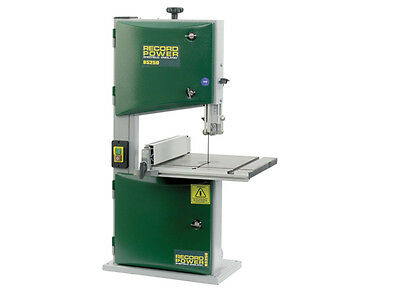Record Power RPTBS250 BS250 Benchtop Bandsaw