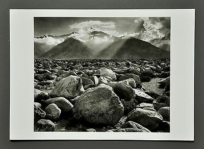 Ansel Adams Ltd. Photo 17x24 Mount Williamson Sierra Nevada California 1945 B&W