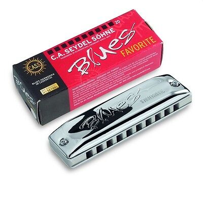 Seydel Favorite Harmonica LOW, SUPER LOW & HIGH Solid Aluminum Comb - Key Choice