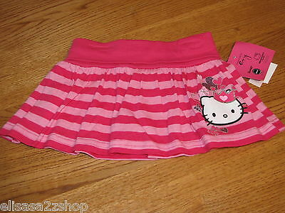 Girls Hello Kitty Princess HK Scooter HK5604292 CER skort 4 NWT^^