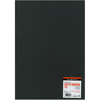 Daler Rowney : Graduate Stapled Softcover Sketchbook : 160gsm : 20 Sheets : A3
