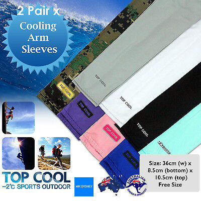 Sport Arm Stretch Sleeves UV Protection Golf Cooling Arm Sleeves Driving