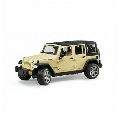 Bruder #02525 Jeep Wrangler Unlimited Rubicon! New Factory Sealed! 1:16 Scale #