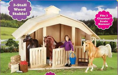Breyer Horse Classics Collection #701 West Wind Stable New Factory Sealed
