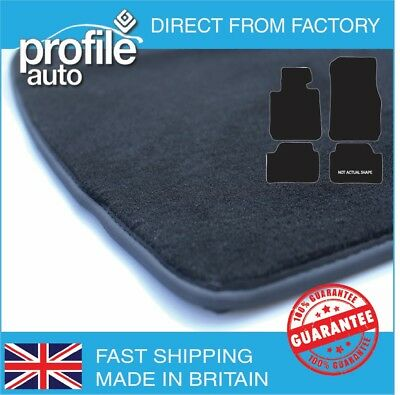 Quattroporte 2004 On Black Tailored Floor Car Mats Carpet /Rubber